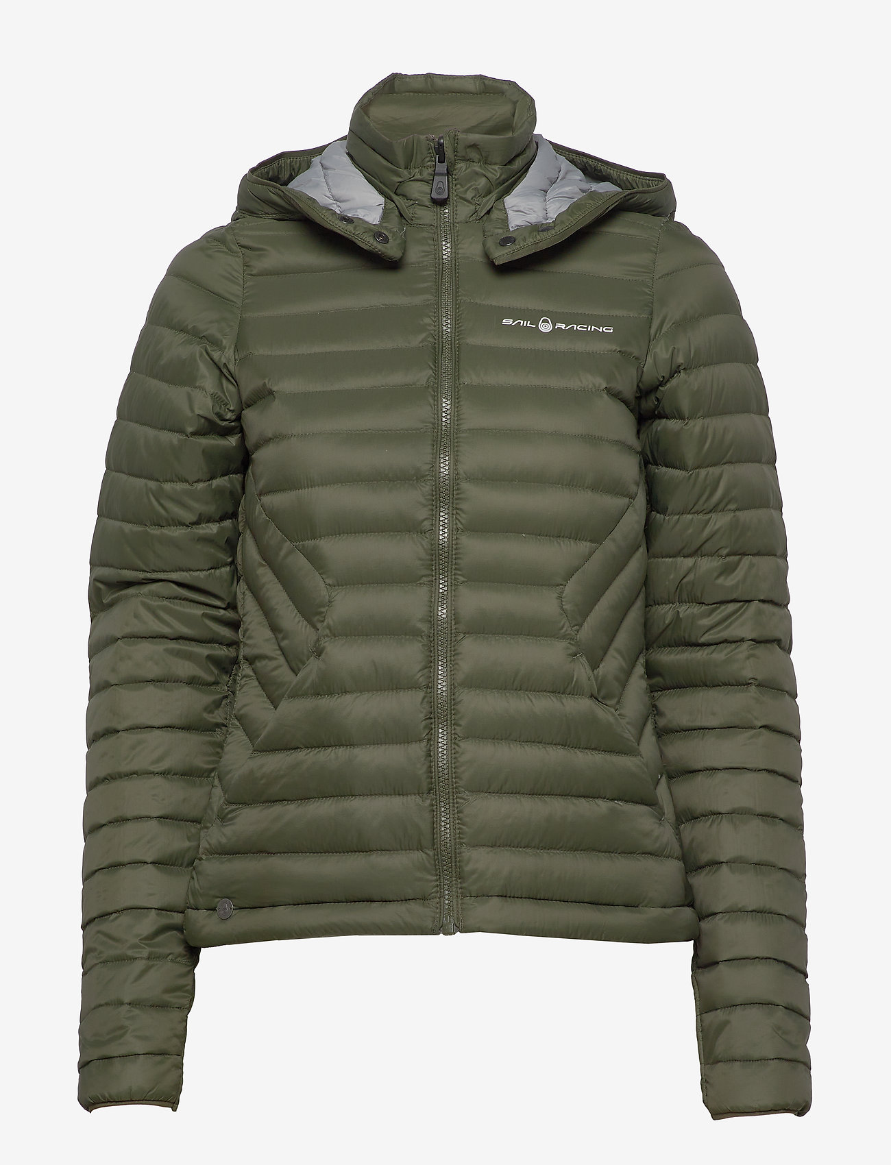 Sail Racing - W LINK DOWN JACKET - sports jackets - forest green - 1