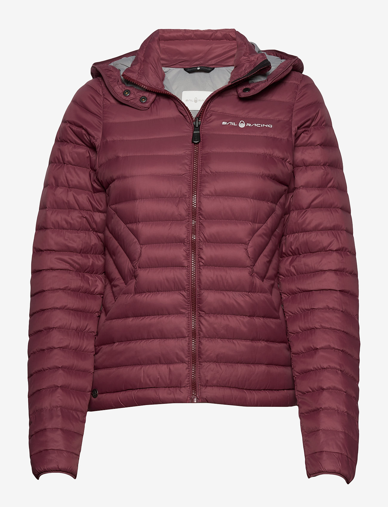 Sail Racing - W LINK DOWN JACKET - sports jackets - maroon - 0