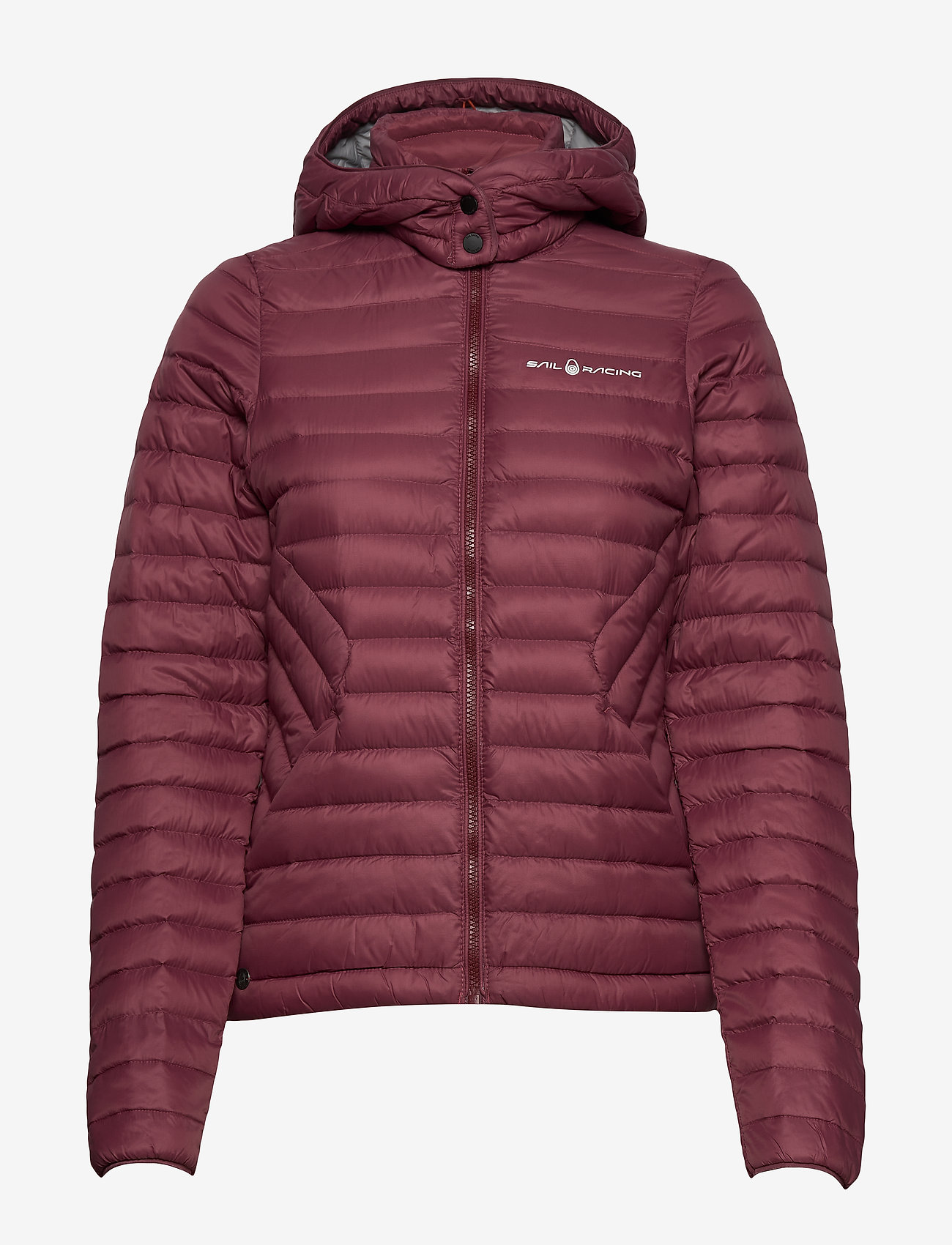 Sail Racing - W LINK DOWN JACKET - sports jackets - maroon - 1