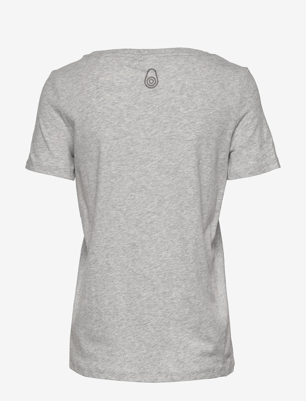 Sail Racing - W GAIL TEE#2 - t-shirts - grey mel - 1