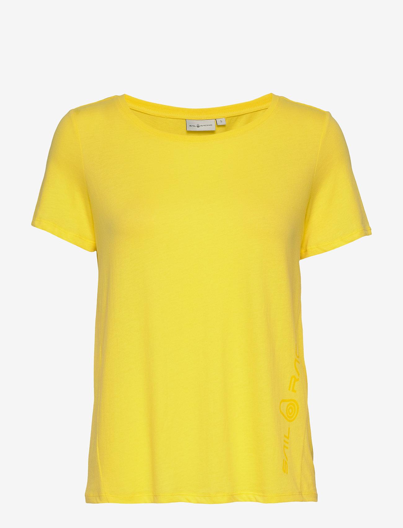 Sail Racing - W GAIL TEE#2 - t-shirts - light yellow - 0