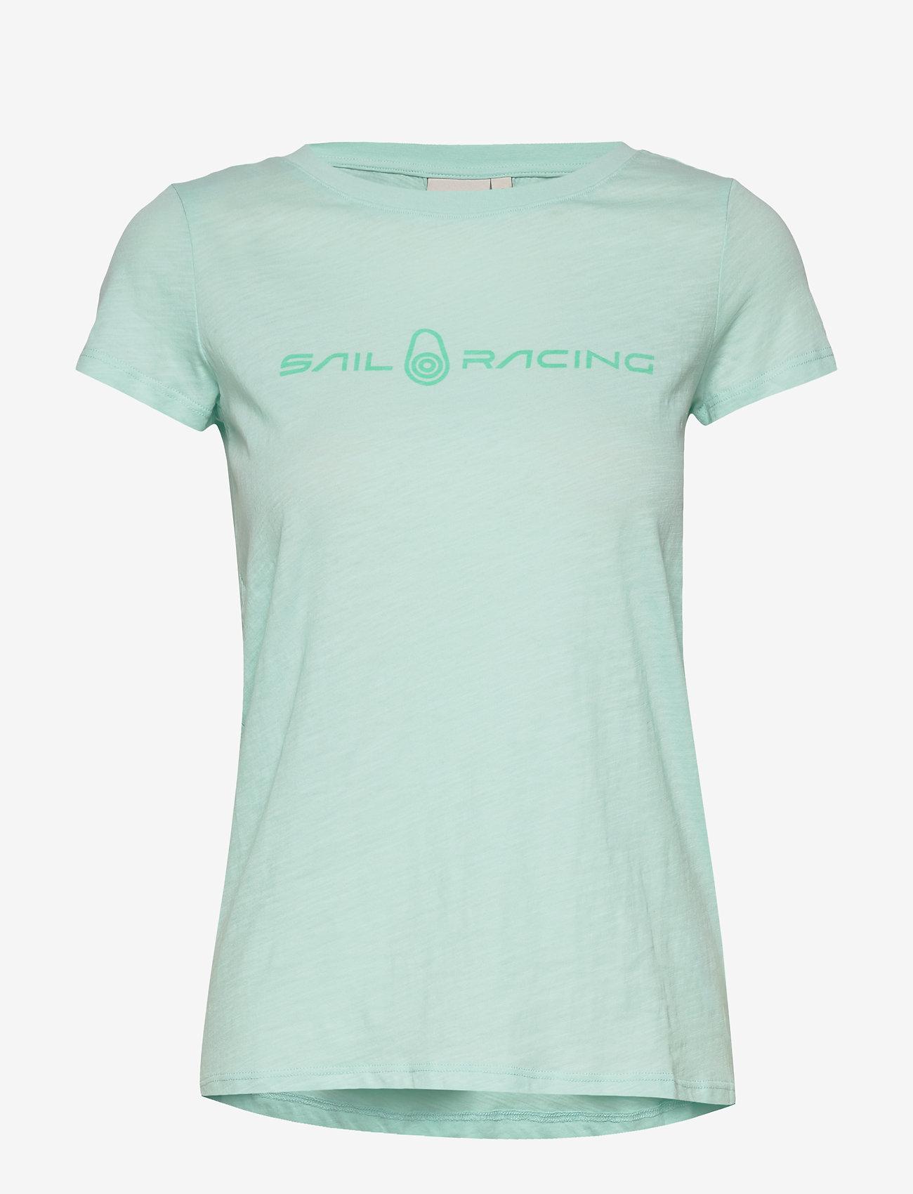 Sail Racing - W GALE TEE - t-shirts - aqua flow - 0