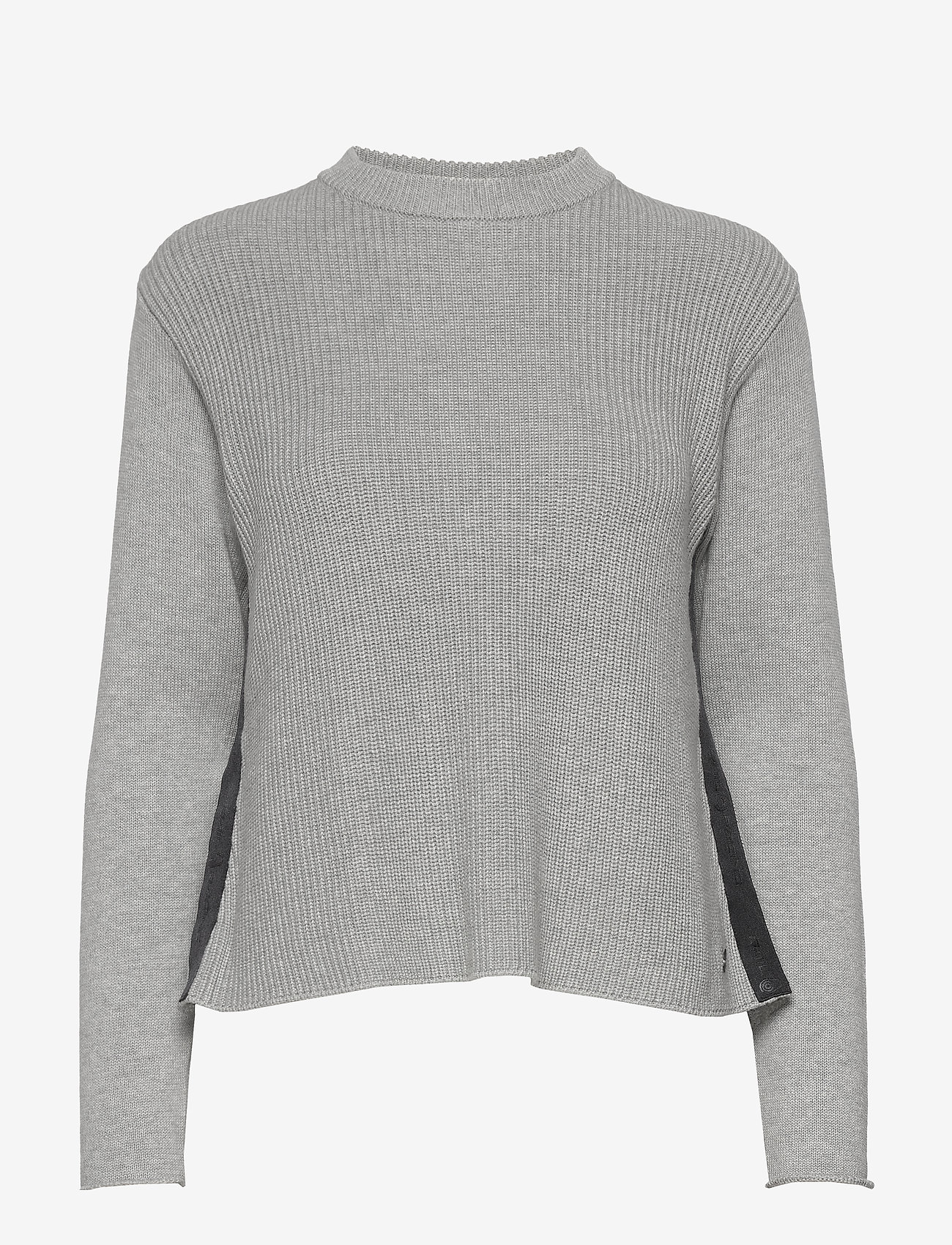 Sail Racing - W RACE KNITTED SLIT - jumpers - grey melange - 0