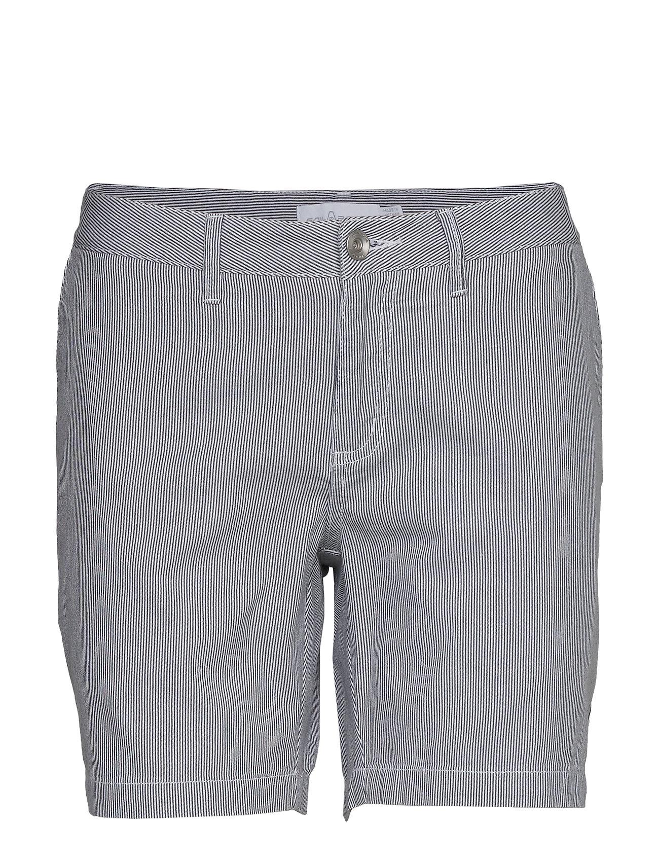 Image of W Gale Striped Chino Shorts Shorts Chino Shorts Blå Sail Racing (3425863047)
