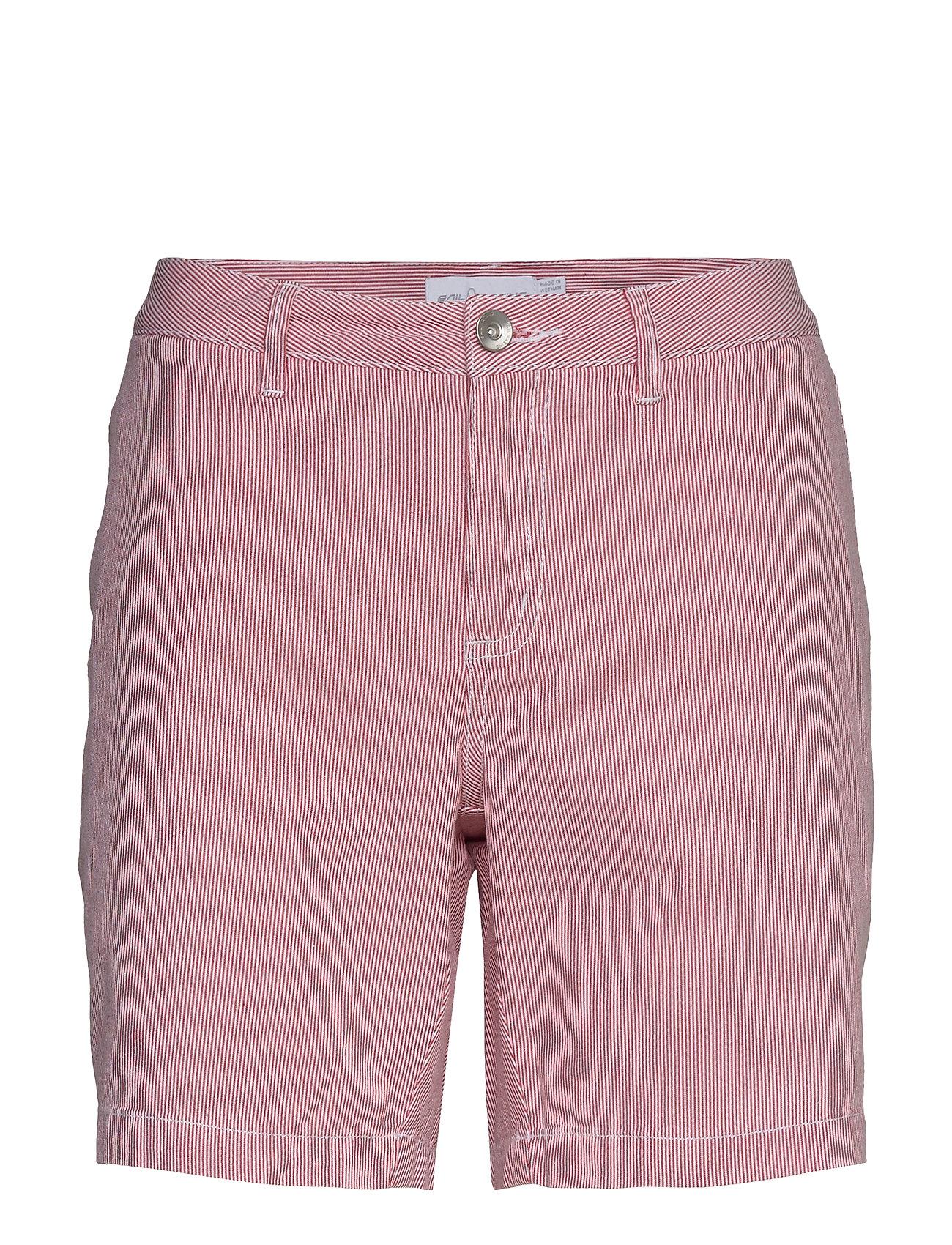 Image of W Gale Striped Chino Shorts Shorts Chino Shorts Lyserød Sail Racing (3427061121)