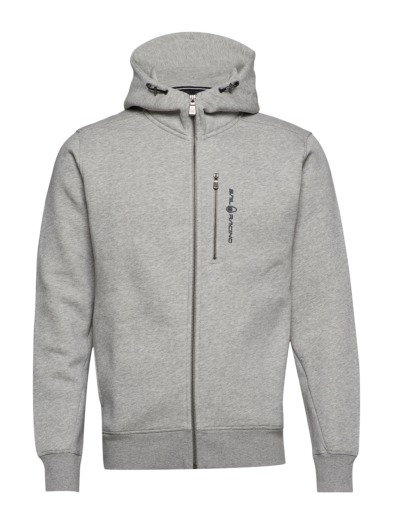 Sail Racing BOWMAN ZIP HOOD - GREY MEL
