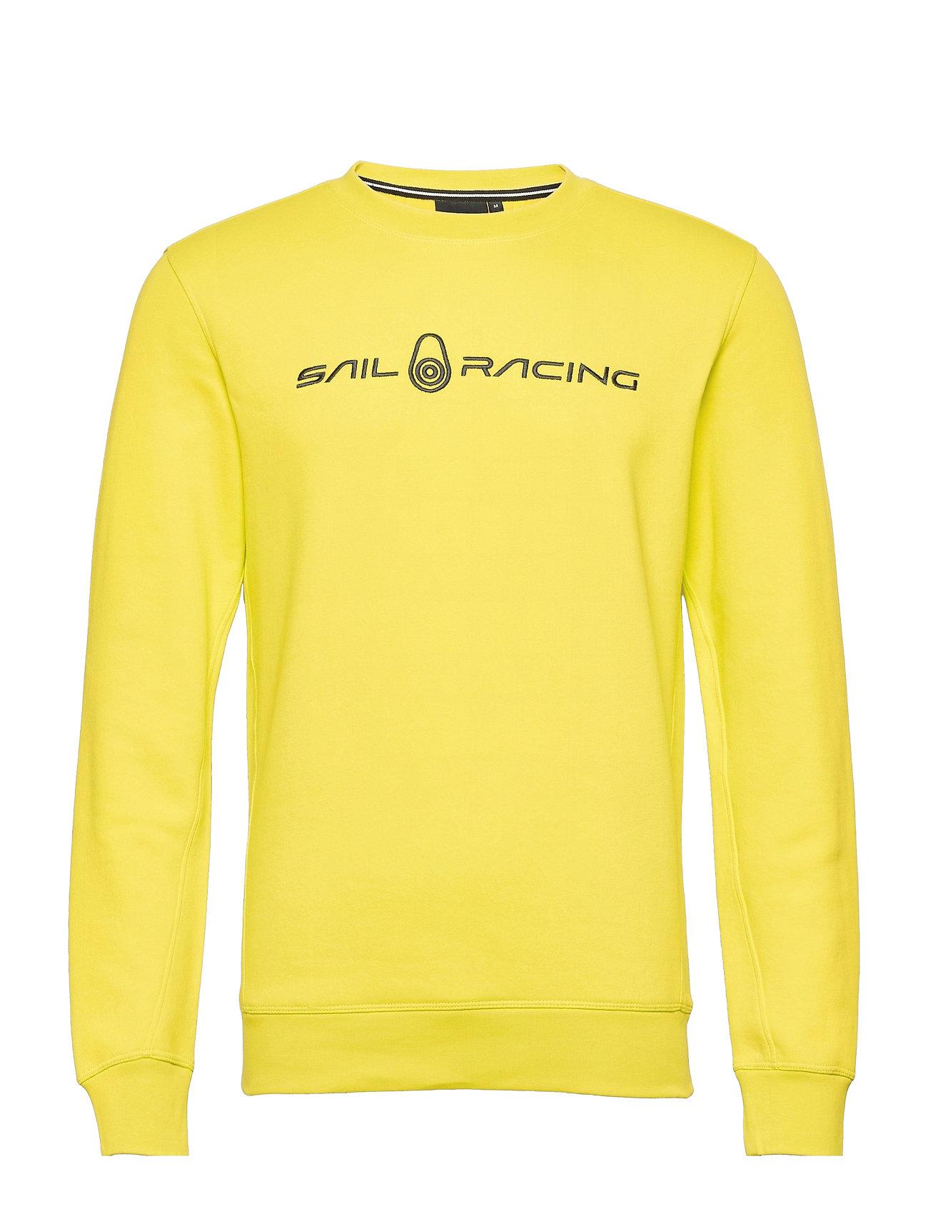 Bowman Sweater Sweatshirt Trøje Gul Sail Racing