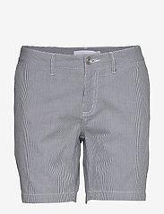 Sail Racing - W GALE STRIPED CHINO SHORTS - chino shorts - navy stripe - 0