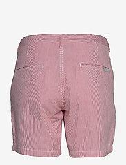 Sail Racing - W GALE STRIPED CHINO SHORTS - chino shorts - storm red stripe - 1