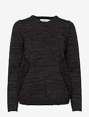 Sail Racing - W RACE STRETCHKNIT SWEATER - longsleeved tops - carbon melange - 0