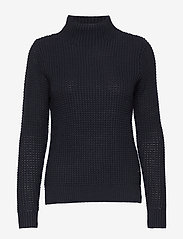 Sail Racing - W RACE WAFFLE KNIT POLO - jumpers - navy - 0