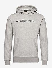 Sail Racing - BOWMAN HOOD - hoodies - grey mel - 0