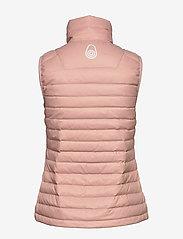 Sail Racing - W LINK DOWN VEST - puffer vests - dusky pink - 2