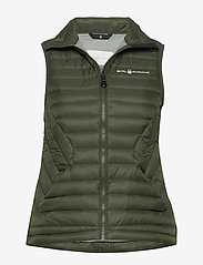 Sail Racing - W LINK DOWN VEST - treningsjakker - forest green - 0