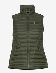 Sail Racing - W LINK DOWN VEST - treningsjakker - forest green - 1