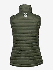 Sail Racing - W LINK DOWN VEST - treningsjakker - forest green - 2