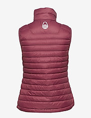 Sail Racing - W LINK DOWN VEST - puffer vests - maroon - 2