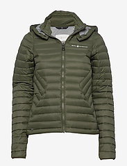 Sail Racing - W LINK DOWN JACKET - sports jackets - forest green - 0