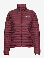 Sail Racing - W LINK DOWN JACKET - sports jackets - maroon - 2