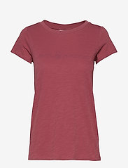 Sail Racing - W GALE TEE - t-shirts - maroon - 0