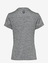 Sail Racing - W GALE TECHNICAL TEE - t-shirts - grey mel - 1