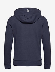 Sail Racing - ANTARCTICA ZIP HOOD - basic sweatshirts - navy melange - 1
