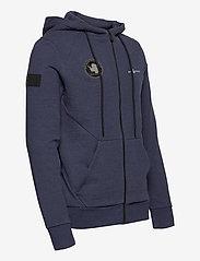 Sail Racing - ANTARCTICA ZIP HOOD - basic sweatshirts - navy melange - 2