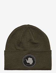 Sail Racing - ANTARCTICA FOLDED WOOL BEANIE - beanies - forest green - 0