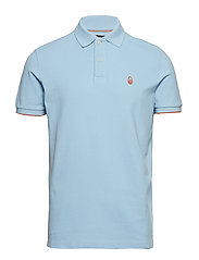 BOWMAN POLO - BRIGHT BLUE
