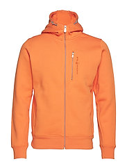 BOWMAN ZIP HOOD - ORANGE