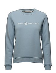 W GALE SWEATER - POWDER BLUE