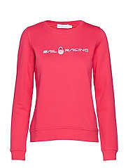 W GALE SWEATER - RACE PINK