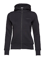 W GALE ZIP HOOD - CARBON