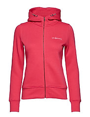 W GALE ZIP HOOD - RACE PINK