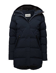 W RACE DOWN PARKA - NAVY