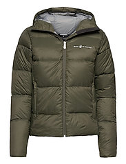 W GRAVITY DOWN JACKET - FOREST GREEN