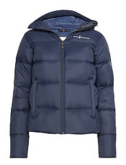 W GRAVITY DOWN JACKET - NAVY