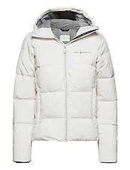W GRAVITY DOWN JACKET - SPRAYWHITE