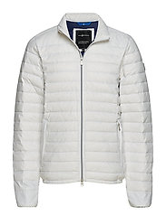 GRINDER DOWN JACKET - OFF WHITE