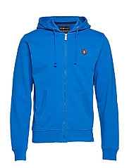 GRINDER ZIP HOOD - BRIGHT BLUE