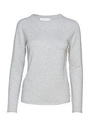 W Race Light Knit - GREY MELANGE