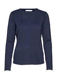 W Race Light Knit - NAVY