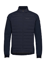 RACE HYBRID JACKET - NAVY