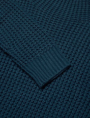 Sail Racing - W RACE WAFFLE KNIT POLO - jumpers - dark teal - 2