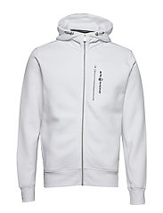 BOWMAN ZIP HOOD - WHITE