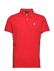 BOWMAN POLO - BRIGHT RED