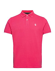 BOWMAN POLO - STRONG PINK