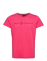 BOWMAN TEE - STRONG PINK