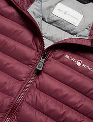 Sail Racing - W LINK DOWN JACKET - sports jackets - maroon - 4