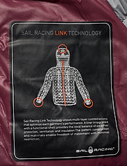 Sail Racing - W LINK DOWN JACKET - sports jackets - maroon - 7